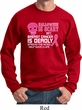 Mens Sweatshirt Halloween Scary Breast Cancer Deadly Sweat Shirt