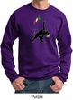 Mens Sweatshirt Rasta Triangle Sweat Shirt
