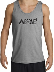 Mens Tanktop Awesome Cubed Tank Top