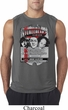 Mens Three Stooges Shirt Nyukleheads Garage Sleeveless Tee T-Shirt