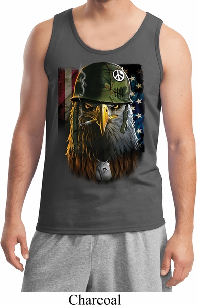 123c89733d9103 Mens USA Tank Top American Eagle Tanktop - American Eagle Mens Shirts
