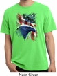 Mens USA Tee American Icon Pigment Dyed T-shirt