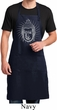 Mens Yoga Apron Iconic Buddha Full Length Apron with Pockets