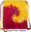 Mens Yoga Bag Glowing Chakras Tie Dye Bag