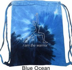 Mens Yoga Bag Line Warrior Tie Dye Bag