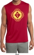 Mens Yoga Diamond Manipura Dry Wicking Sleeveless Shirt