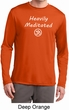Mens Yoga Heavily Meditated with OM Dry Wicking Long Sleeve