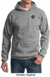 Mens Yoga Hoodie Sweatshirt – Aum Patch Sanskrit Pocket Print Hoody