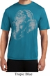 Mens Yoga Shirt BIG Ganesha Profile Moisture Wicking Tee T-Shirt