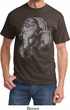 Mens Yoga Shirt BIG Ganesha Profile Tee T-Shirt