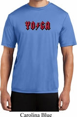 Mens Yoga Shirt Classic Rock Yoga Moisture Wicking Tee T-Shirt