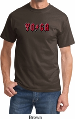 Mens Yoga Shirt Classic Rock Yoga Tee T-Shirt