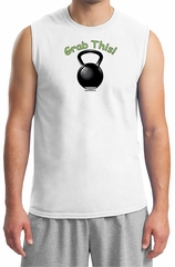 Mens Shirt Grab This Kettle Bell Muscle Tee T-Shirt