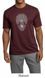 Mens Yoga Shirt Grey Bodhi Tree Moisture Wicking Tee T-Shirt
