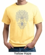 Mens Yoga Shirt Grey Bodhi Tree Organic Tee T-Shirt