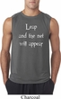 Mens Yoga Shirt Leap Sleeveless Tee T-Shirt