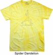 Mens Yoga Shirt Line Warrior Spider Tie Dye Tee T-shirt