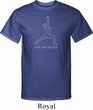 Mens Yoga Shirt Line Warrior Tall Tee T-Shirt
