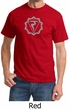 Mens Yoga Shirt Manipura Chakra Meditation T-shirt