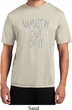 Mens Yoga Shirt Namastay Out Of It Moisture Wicking Tee T-Shirt