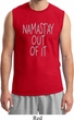 Mens Yoga Shirt Namastay Out Of It Muscle Tee T-Shirt