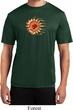 Mens Yoga Shirt Ohm Sun Moisture Wicking Tee T-Shirt