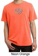 Mens Yoga Shirt OM Heart Pigment Dyed Tee T-Shirt