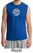 Mens Yoga Shirt – Om Symbol Meditation Adult Muscle Shirt