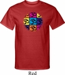 Mens Yoga Shirt Pop Art Om Tall Tee T-Shirt