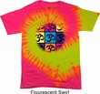 Mens Yoga Shirt Pop Art Om Tie Dye Tee T-shirt