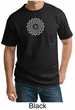 Mens Yoga Shirt Sahasrara Chakra Meditation Tall T-shirt