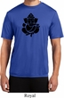 Mens Yoga Shirt Shadow Ganesha Moisture Wicking Tee T-Shirt