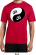 Mens Yoga Shirt Yin Yang AUM Moisture Wicking Tee T-Shirt