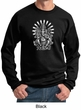 Mens Yoga Sweatshirt Ganesha Sweat Shirt