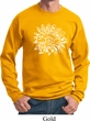 Mens Yoga Sweatshirt Sketch Lotus Sweat Shirt