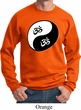 Mens Yoga Sweatshirt Yin Yang AUM Sweat Shirt