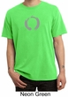Mens Yoga T-shirt – Enso Zen Meditation Adult Pigment Dyed Tee Shirt