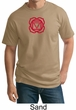 Mens Yoga T-shirt - Muladhara Root Chakra Tall Tee Shirt