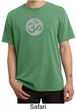 Mens Yoga T-shirt – Om Symbol Meditation Adult Pigment Dyed Tee Shirt