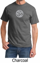 Mens Yoga T-shirt – Om Symbol Meditation Adult Tee Shirt