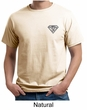 Mens Yoga T-Shirt Super OM Pocket Print Organic Tee Shirt