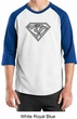 Mens Yoga T-Shirt Super OM Raglan Shirt