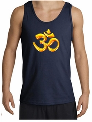 Mens Yoga Tanktop 3D OM Tank Top