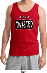 Mens Yoga Tanktop Twisted Tank Top