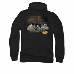 Mirrormask Hoodie Sweatshirt Bob Malcolm Black Adult Hoody Sweat Shirt