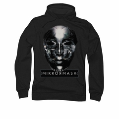 Mirrormask Hoodie Sweatshirt Mask Black Adult Hoody Sweat Shirt