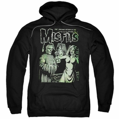 Misfits Hoodie The Return Black Sweatshirt Hoody