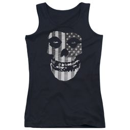 Misfits Juniors Tank Top Fiend Flag Black Tanktop
