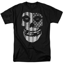 Misfits Shirt Fiend Flag Black T-Shirt