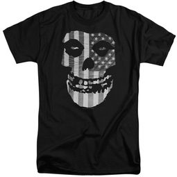 Misfits Shirt Fiend Flag Black Tall T-Shirt